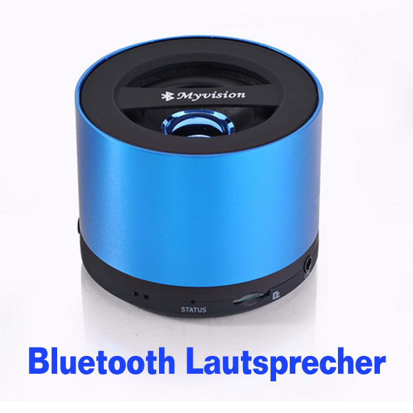 mini speaker bluetooth portabler lautsprecher f r handy. Black Bedroom Furniture Sets. Home Design Ideas