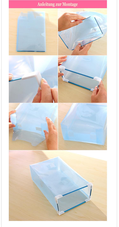 faltbox verschiedene farben aufbewahrungsboxen korb mit schublade metallrahmen. Black Bedroom Furniture Sets. Home Design Ideas